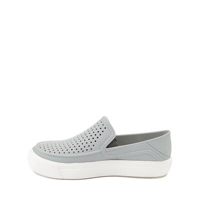 Alternate view of Crocs CitiLane Roka Slip On Casual Shoe - Baby / Toddler / Little Kid - Light Gray