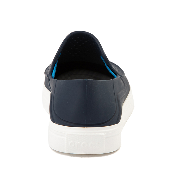 alternate view Crocs CitiLane Roka Slip On Casual Shoe - Baby / Toddler / Little Kid - NavyALT4