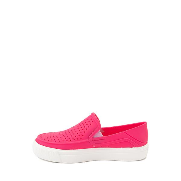 alternate view Crocs CitiLane Roka Slip On Casual Shoe - Baby / Toddler / Little Kid - Paradise PinkALT1