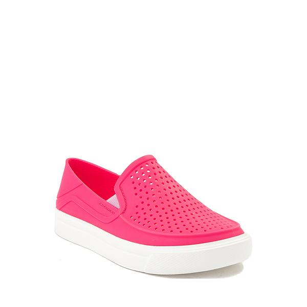 alternate view Crocs CitiLane Roka Slip On Casual Shoe - Baby / Toddler / Little Kid - Paradise PinkALT5