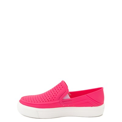 Alternate view of Crocs CitiLane Roka Slip On Casual Shoe - Baby / Toddler / Little Kid - Paradise Pink