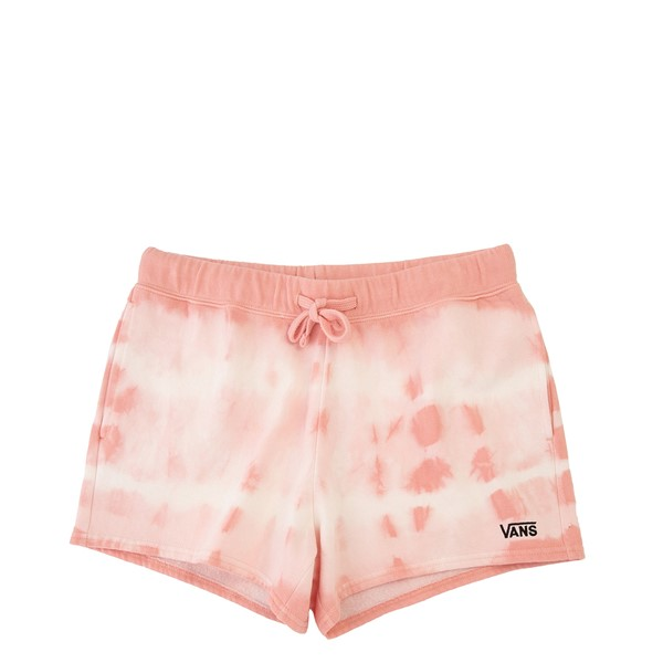 Womens Vans Sun Waves Shorts - Coral Almond Tie Dye