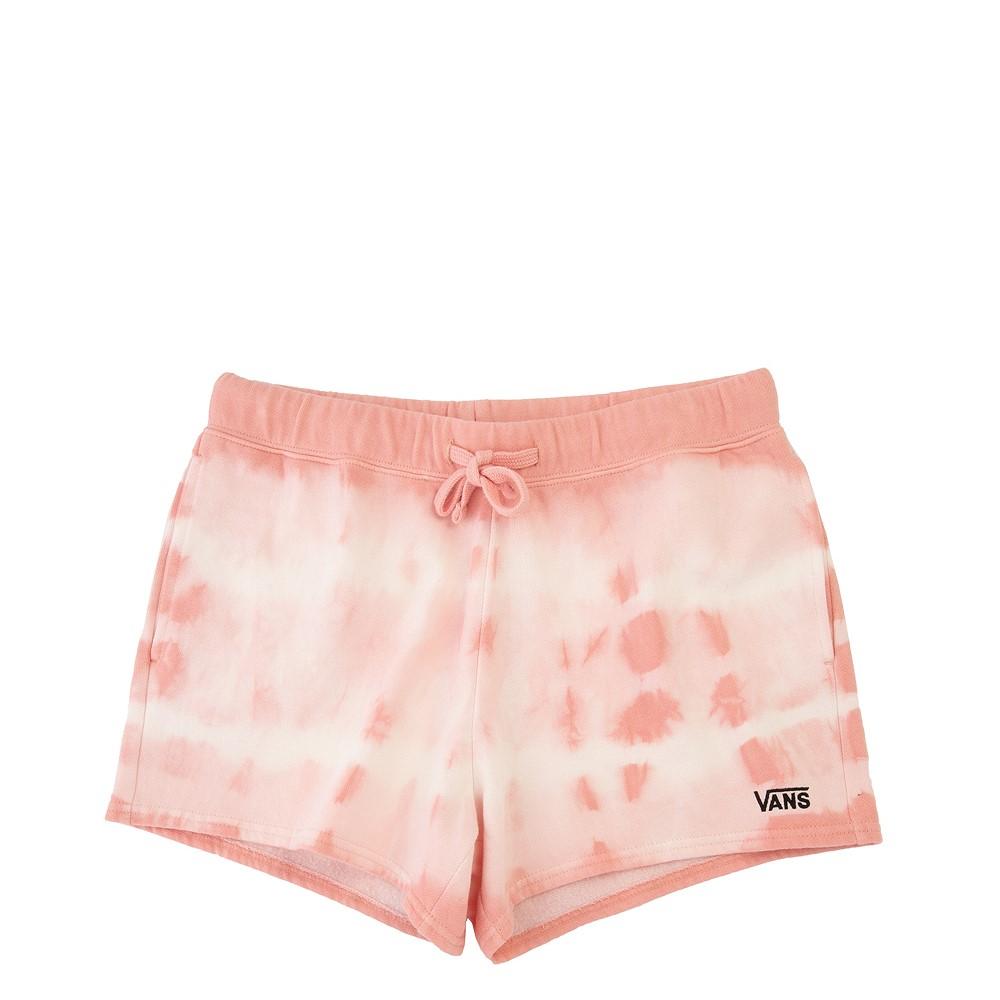 Womens Vans Sun Waves Shorts - Coral Almond Tie Dye