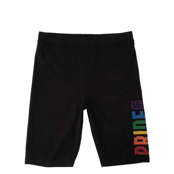Womens Vans Pride Bike Shorts - Black / Rainbow