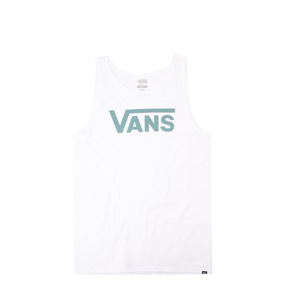 Mens Vans Classic Tank - White