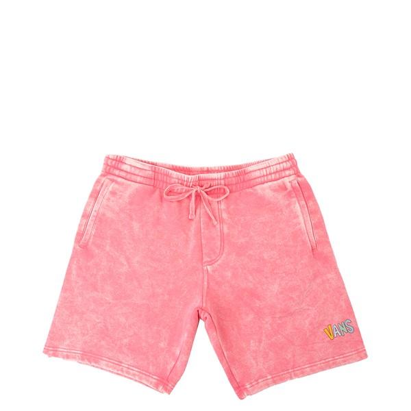 Mens Vans Overlook Fleece Shorts - Pink Lemonade