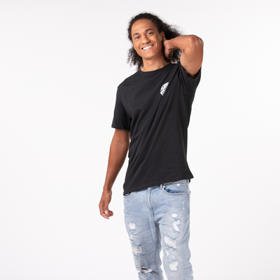 Alternate view of Mens Vans Authentic OTW Tee - Black