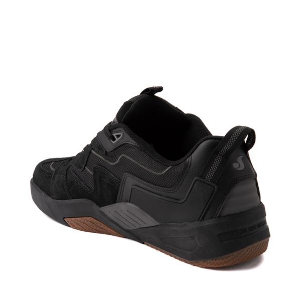 alternate view Mens DVS Devious Skate Shoe - Black / Gray / GumALT1