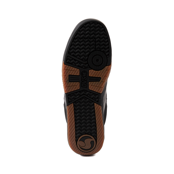 alternate view Mens DVS Devious Skate Shoe - Black / Gray / GumALT3
