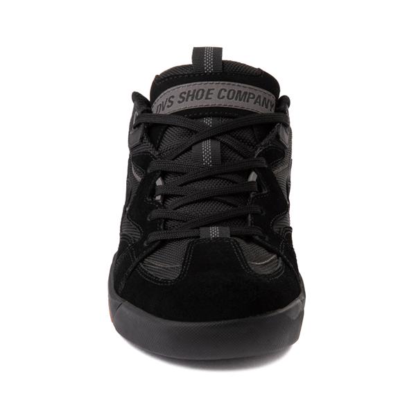 alternate view Mens DVS Devious Skate Shoe - Black / Gray / GumALT4