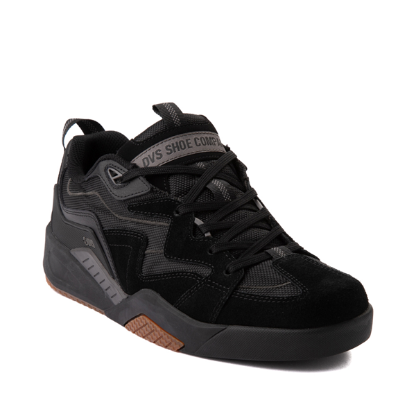 alternate view Mens DVS Devious Skate Shoe - Black / Gray / GumALT5