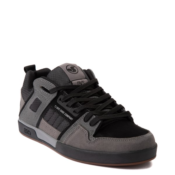 alternate view Mens DVS Comanche 2.0+ Skate Shoe - Gray / Black / GumALT5