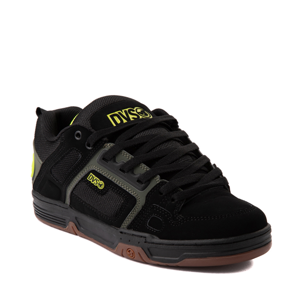 alternate view Mens DVS Comanche Skate Shoe - Black / Olive / GumALT5