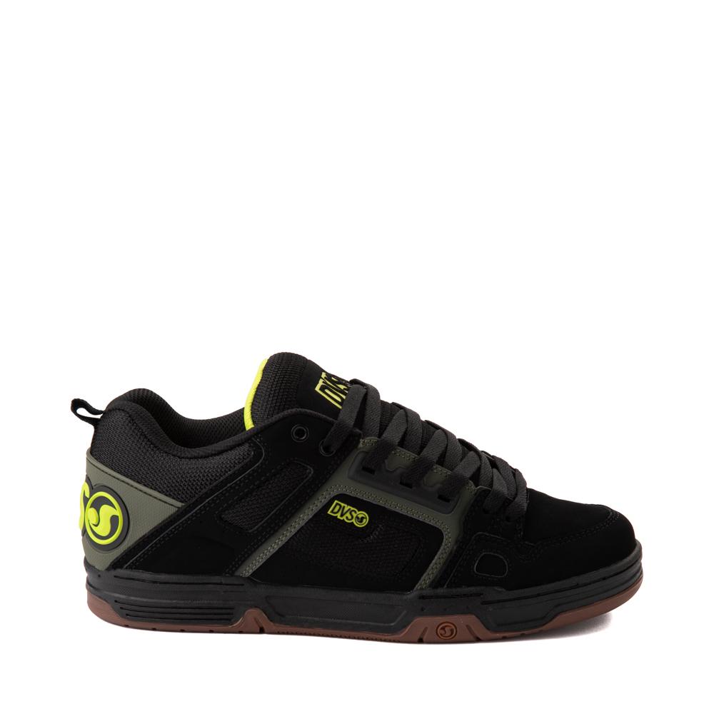 Mens DVS Comanche Skate Shoe - Black / Olive / Gum