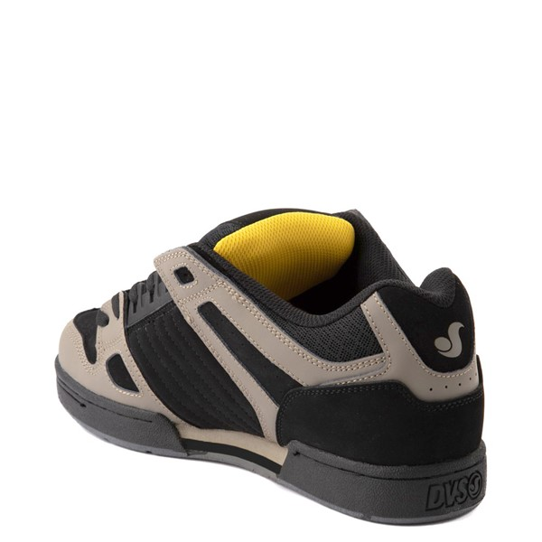 alternate view Mens DVS Celsius Skate Shoe - Black / Gray / YellowALT2