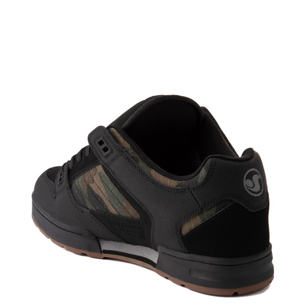 alternate view Mens DVS Militia Snow Skate Shoe - Black / CamoALT1