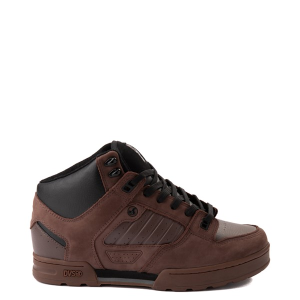 Main view of Mens DVS Militia Boot Skate Shoe - Brown / Gum