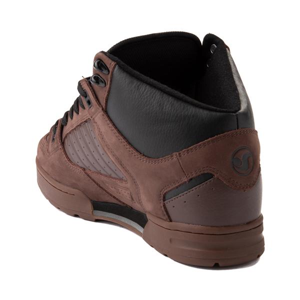 alternate view Mens DVS Militia Boot Skate Shoe - Brown / GumALT1