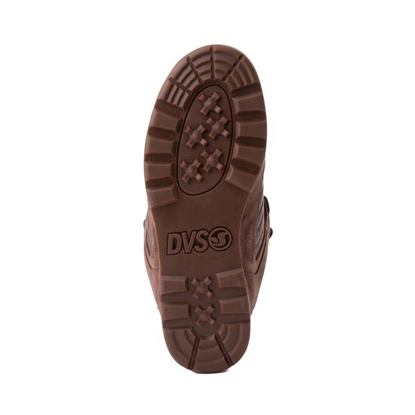 alternate view Mens DVS Militia Boot Skate Shoe - Brown / GumALT3