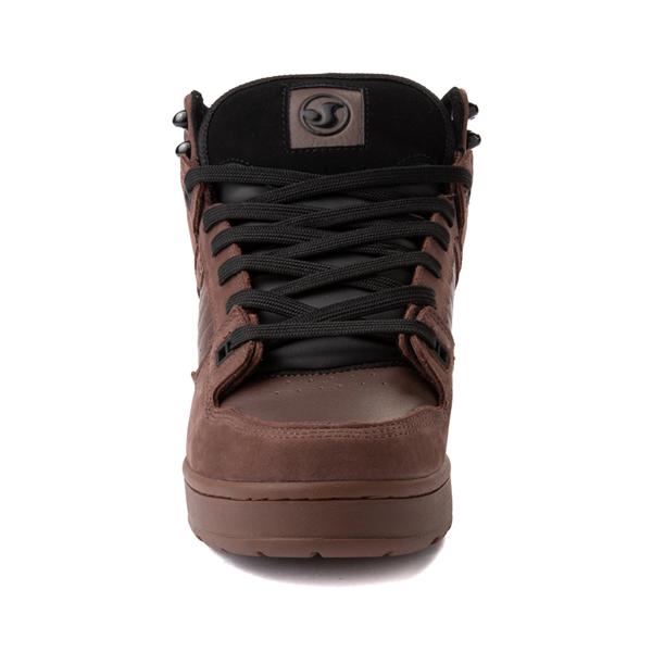 alternate view Mens DVS Militia Boot Skate Shoe - Brown / GumALT4