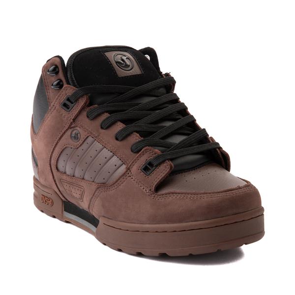 alternate view Mens DVS Militia Boot Skate Shoe - Brown / GumALT5