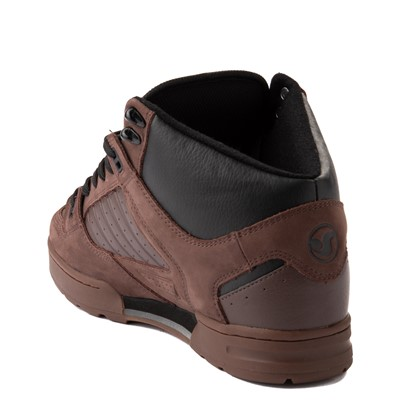 Alternate view of Mens DVS Militia Boot Skate Shoe - Brown / Gum