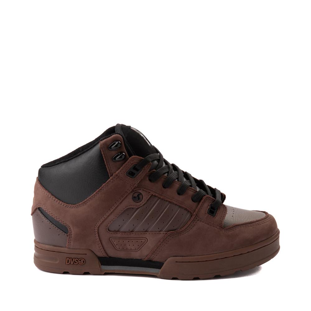 Mens DVS Militia Boot Skate Shoe - Brown / Gum