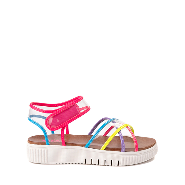 Main view of MIA Elis Sandal - Little Kid / Big Kid - Clear / Multicolor