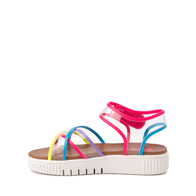 Alternate view of MIA Elis Sandal - Little Kid / Big Kid - Clear / Multicolor