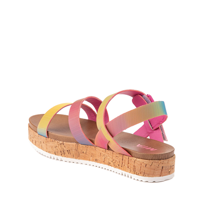 Alternate view of MIA Kaia Sandal - Little Kid / Big Kid - Rainbow