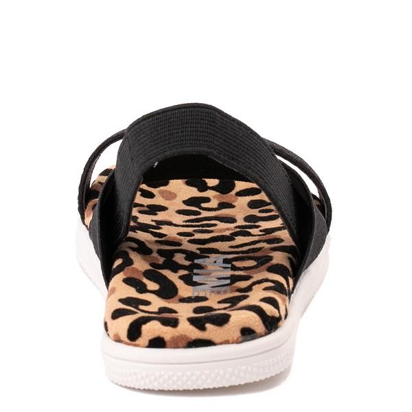 alternate view MIA Jezza Sandal - Toddler / Little Kid - Black / LeopardALT4