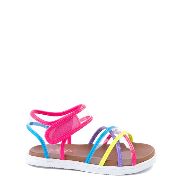 Main view of MIA Elis Sandal - Toddler / Little Kid - Clear / Multicolor