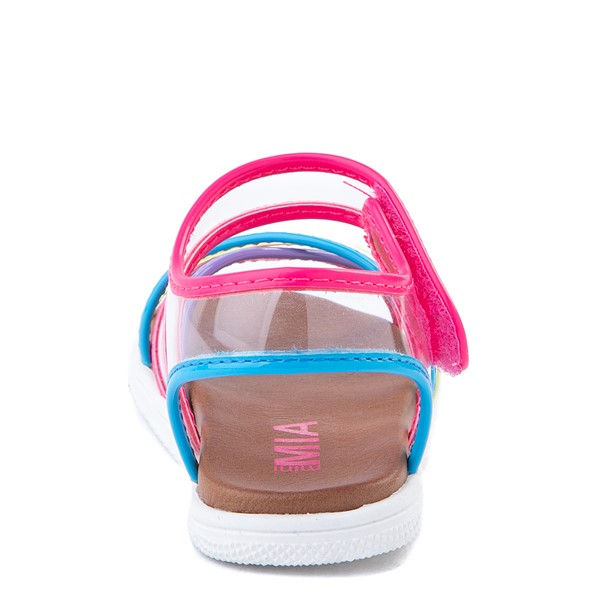 alternate view MIA Elis Sandal - Toddler / Little Kid - Clear / MulticolorALT4
