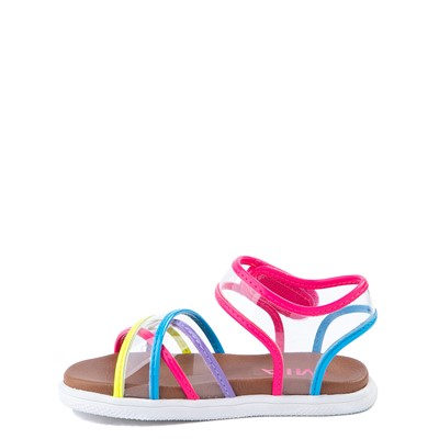 Alternate view of MIA Elis Sandal - Toddler / Little Kid - Clear / Multicolor