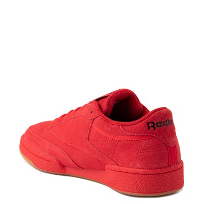 Alternate view of Mens Reebok Club C 85 Athletic Shoe - Vector Red