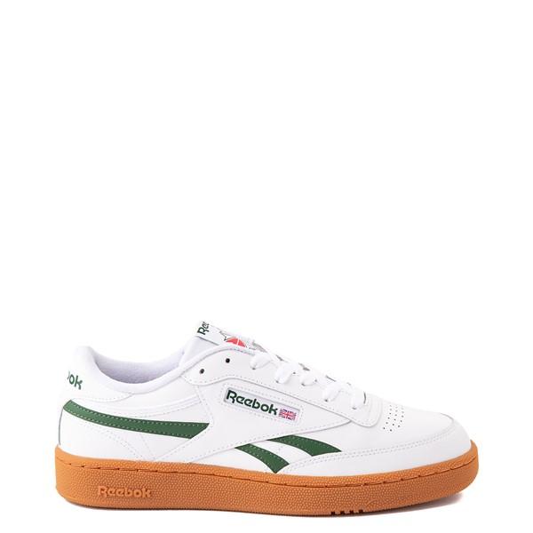 Mens Reebok Club C Revenge Athletic Shoe - White / Green / Gum