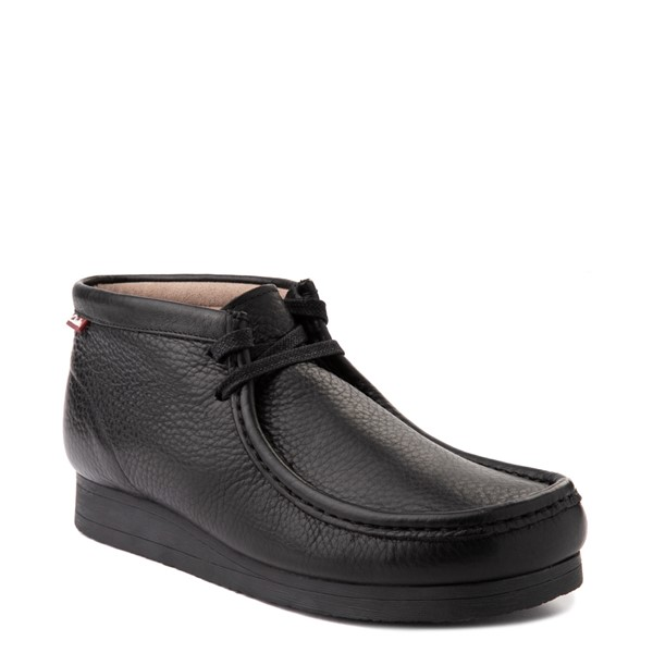 alternate view Mens Clarks Stinson Chukka Boot - BlackALT5