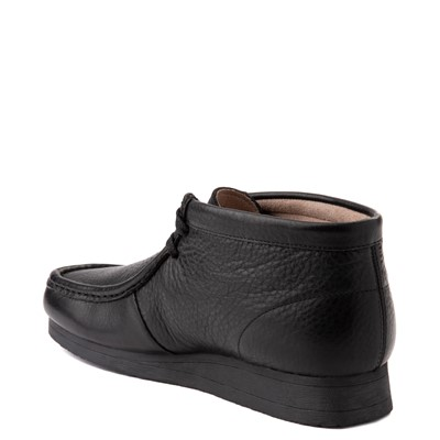 Alternate view of Mens Clarks Stinson Chukka Boot - Black