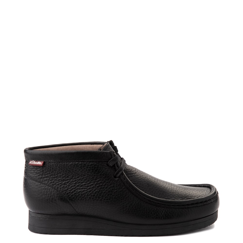 Mens Clarks Stinson Chukka Boot - Black
