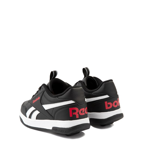 alternate view Reebok x Heelys CL Court Low Skate Shoe - Little Kid / Big Kid - BlackALT1