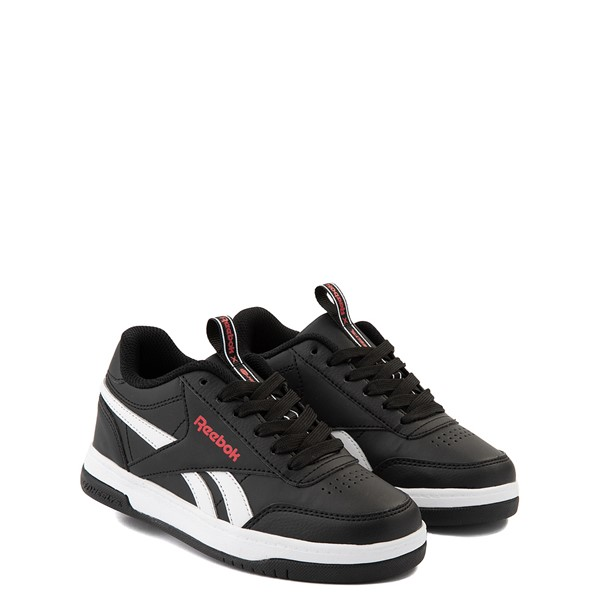 alternate view Reebok x Heelys CL Court Low Skate Shoe - Little Kid / Big Kid - BlackALT5