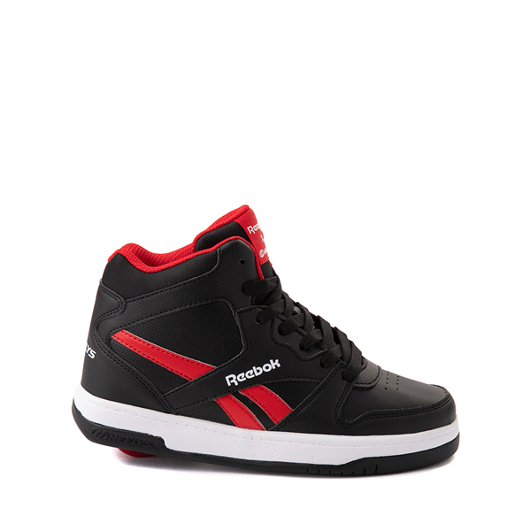 Reebok x Heelys BB4500 Mid Skate Shoe - Little Kid / Big Kid - Black