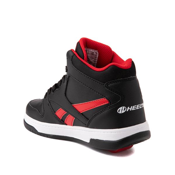 alternate view Reebok x Heelys BB4500 Mid Skate Shoe - Little Kid / Big Kid - BlackALT1