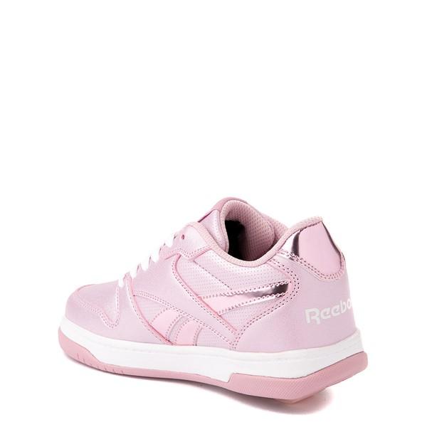alternate view Reebok x Heelys CL Court Low Skate Shoe - Little Kid / Big Kid - Pink SparkleALT1