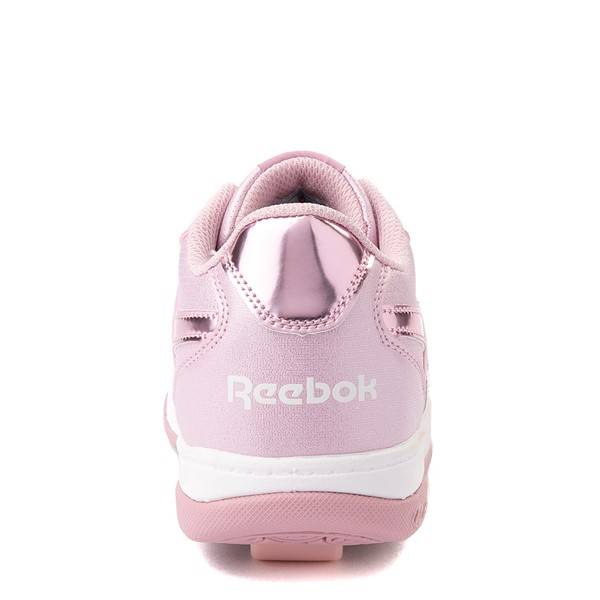 alternate view Reebok x Heelys CL Court Low Skate Shoe - Little Kid / Big Kid - Pink SparkleALT2B
