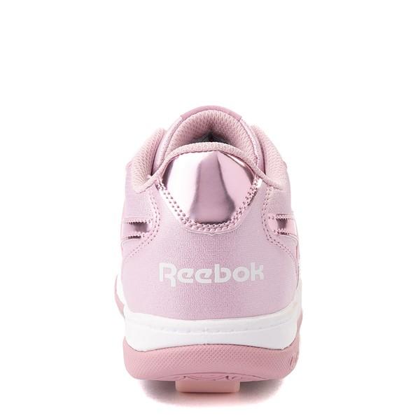 alternate view Reebok x Heelys CL Court Low Skate Shoe - Little Kid / Big Kid - Pink SparkleALT4