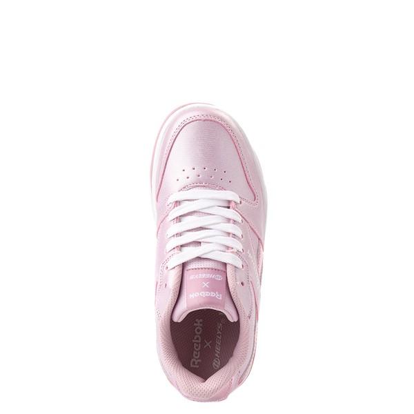 alternate view Reebok x Heelys CL Court Low Skate Shoe - Little Kid / Big Kid - Pink SparkleALT4B
