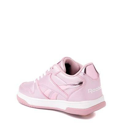 Alternate view of Reebok x Heelys CL Court Low Skate Shoe - Little Kid / Big Kid - Pink Sparkle