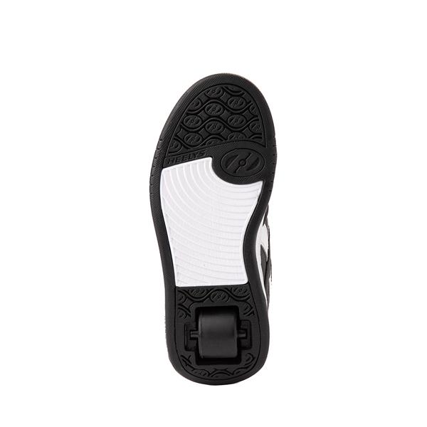 alternate view Reebok x Heelys BB4500 Mid Skate Shoe - Little Kid / Big Kid - Black / Pink / LeopardALT3