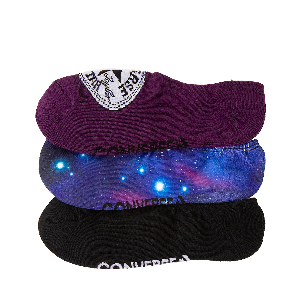 Womens Converse Galaxy Liners 3 Pack - Multicolor